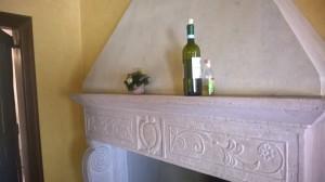 Trevi chamber detail
